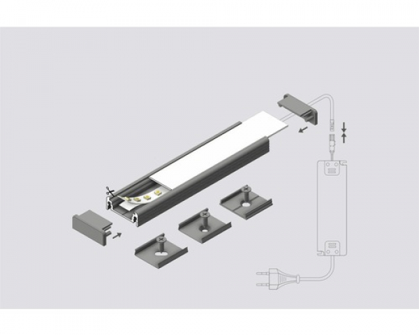 WIDE 200 bis 24mm Led-Band
