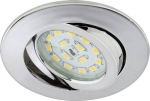 7209-018 LED Einbau chrom IP23
